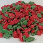 Red and Green Peppermint Flakes | ZBB664