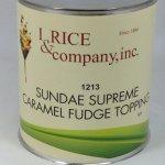 Caramel Fudge Topping | ZRC602