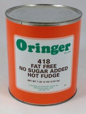 Fat-Free NSA Hot Fudge | ZCF418