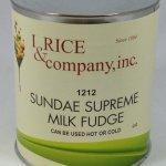 Sundae Supreme Milk Hot Fudge Topping | ZRC600
