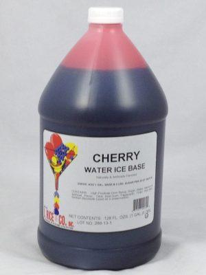 Cherry Water Ice Base   ZRC006