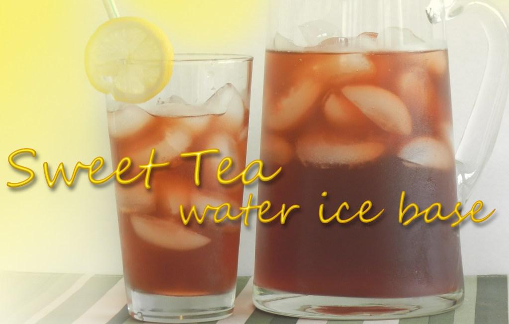Sweet Tea Water Ice Base | ZRC055