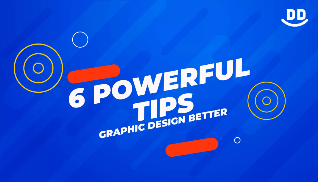 6 POWERFUL graphic design tips