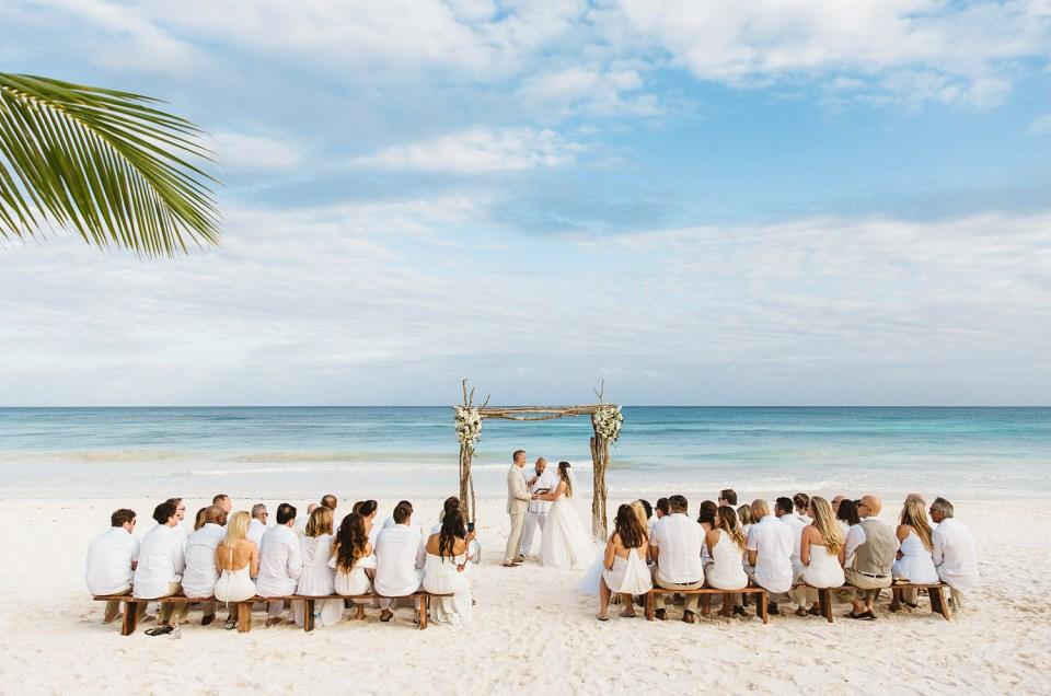 Wedding in Tulum, Akiin Beach