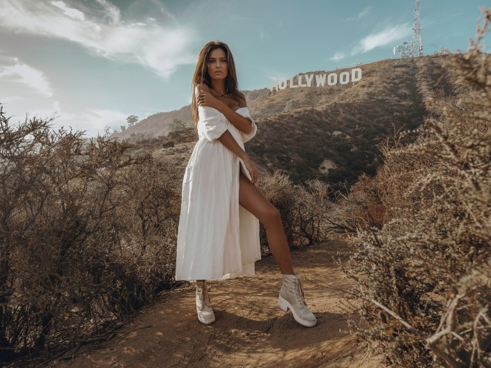 Photoshoot in Hollywood Sign, Los Angeles
