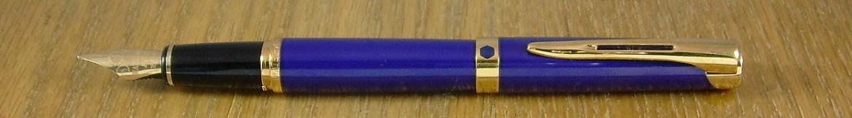 Waterman L'Etalon in blue lacquer.