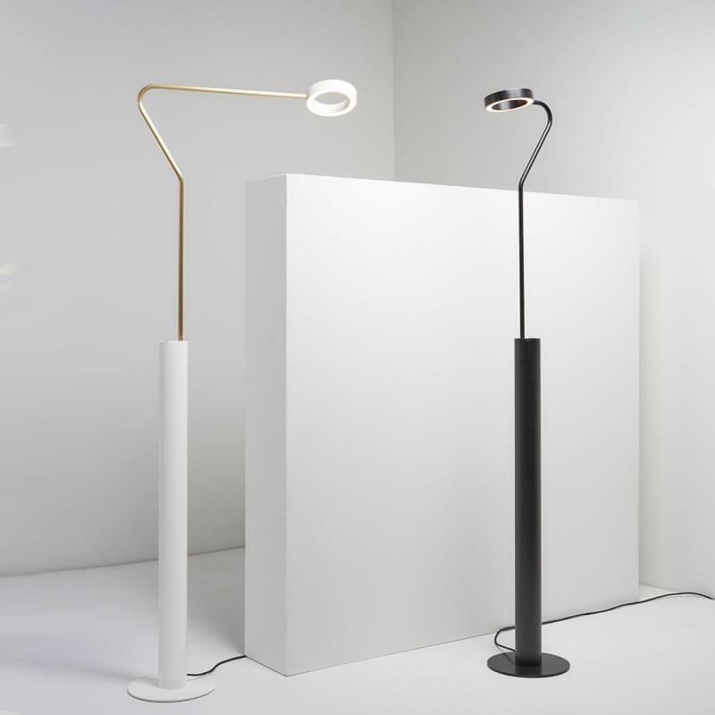meta lampadaire orientable led avec variateur de zavaluce