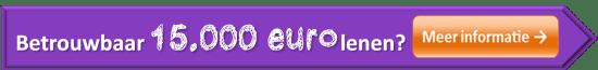 15000 euro lenen vergelijken