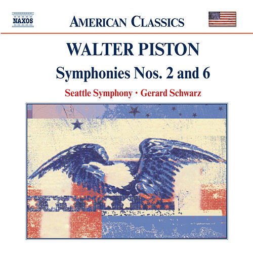 Piston Symphonies Nos 2 And 6 By Seattle Symphony Orchestra