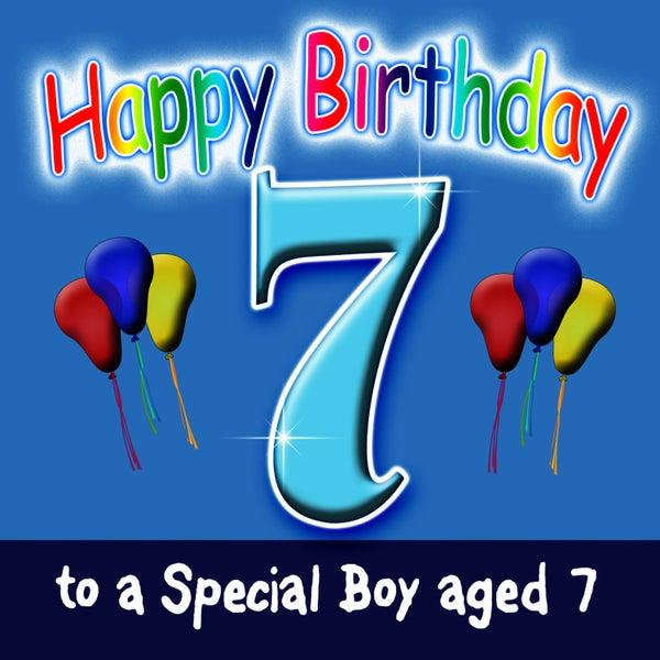Happy Birthday Boy Age 7 Von Andy Green Napster