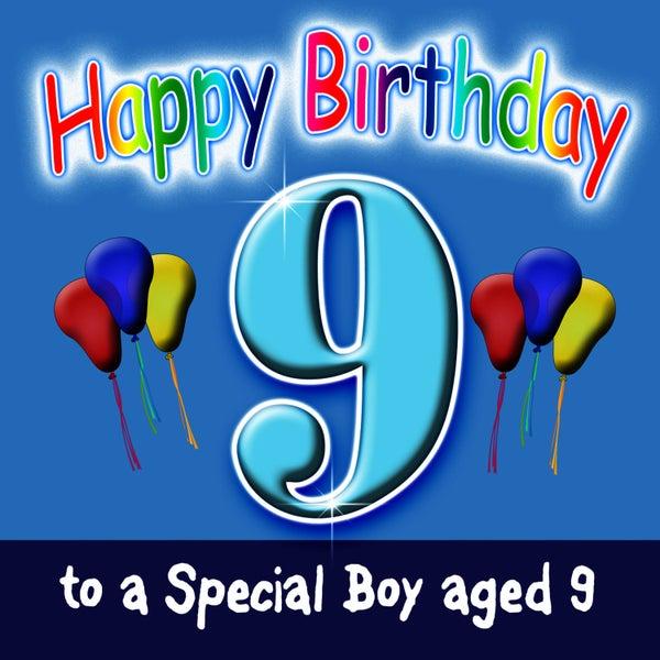 Happy Birthday Boy Age 9 Von Andy Green Napster