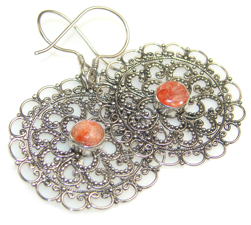 Beautiful Calcite Sterling Silver earrings