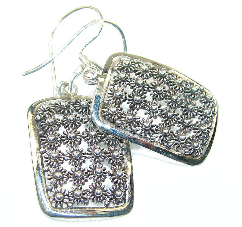 Classy Silver Sterling Silver earrings