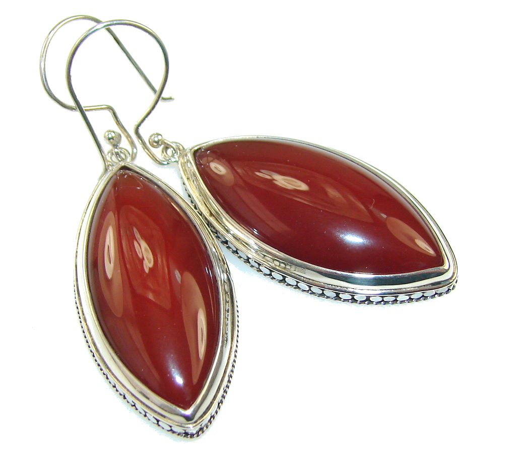 Opening Night!! Agate Silver Sterling earrings