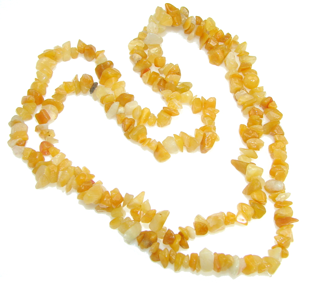 Classic! Simple Agate Beads Strand Necklace