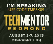 TechMentor Conference 2015