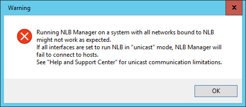 Configuring Multicast NLB for DirectAccess