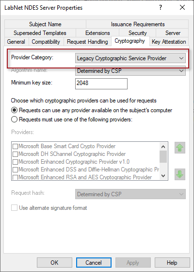 Microsoft Intune NDES Connector Setup Wizard Ended Prematurely