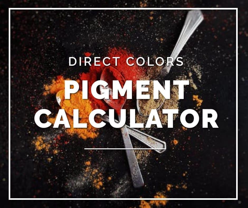 Concrete Pigment Calculator