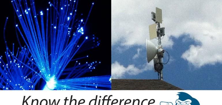 """Our Fiber versus Their """"Fiber"""""""