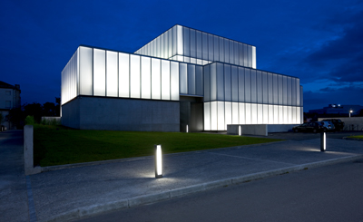 Visual Arts Centre and Theatre, Carlow. Built by BAM Contractors.