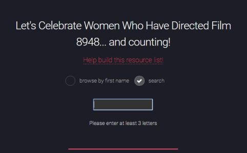 #DirectedbyWomen Women Who Have Directed Film