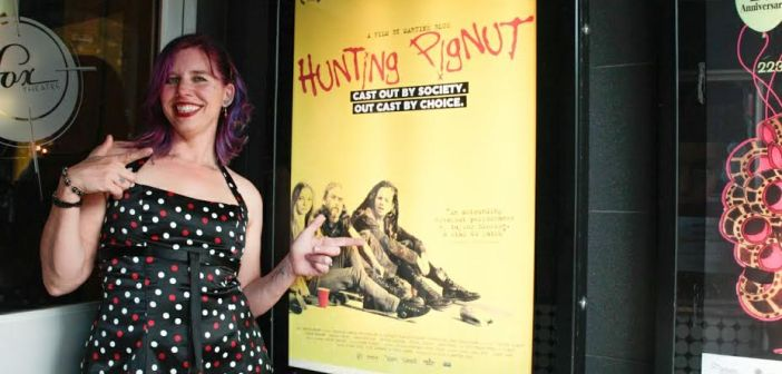 Martine Blue with Hunting Pignut poster