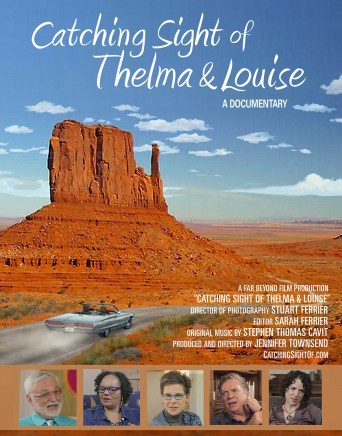 Catching Sight of Thelma and Louise poster