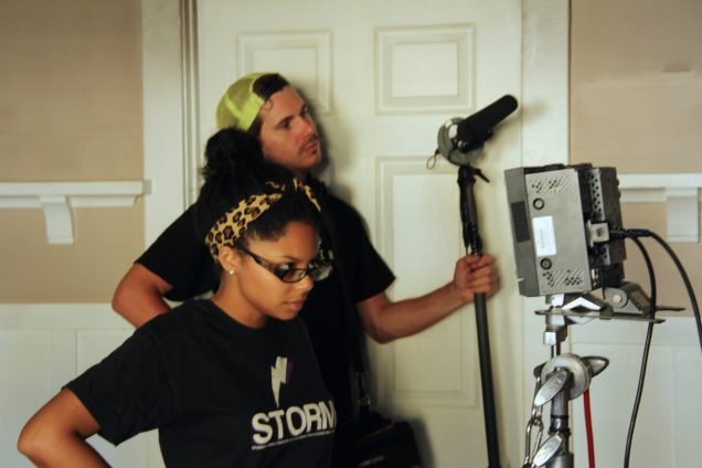 Behind the scenes on set of Amelia's Closet