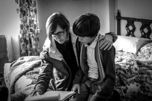 Margo Pelletier directing Cole on set of Thirsty