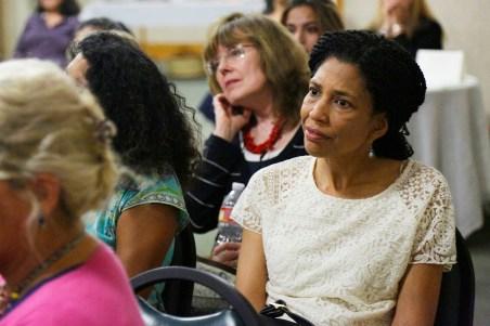 Sands of Silence WIP in Pasadena Nancy Oei audience [Photo: Bill Sparkes]