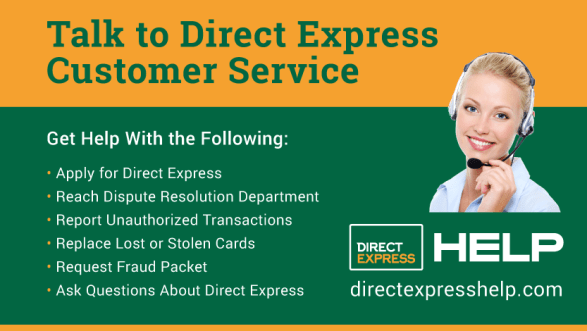 """Direct Express Customer Service"""