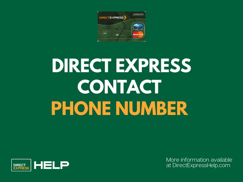 """Direct Express Contact Phone Number"""