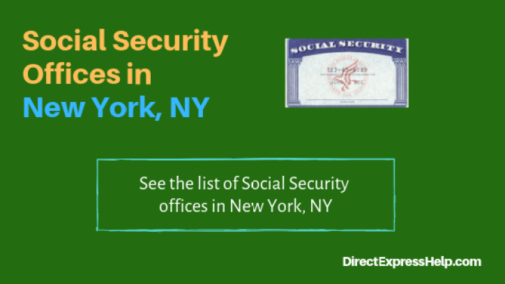 """""""Social Security Offices in New York, NY"""""""