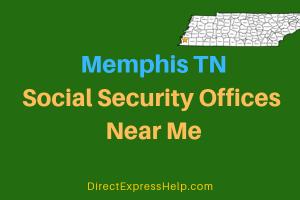 Memphis TN Social Security Offices Near Me
