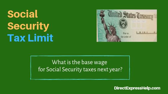 """Social Security tax limit"""