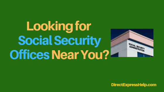 """Washington DC Social Security Office Locations"""