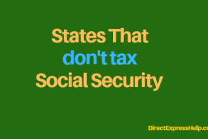"""""""states that don't tax Social Security"""""""