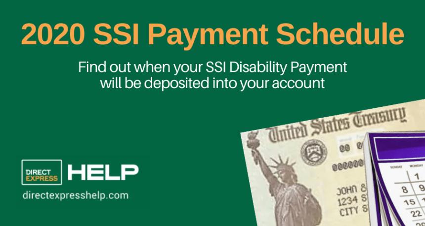 """2020 SSI Payments Calendar"""