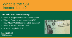 """SSI Income Limits"""