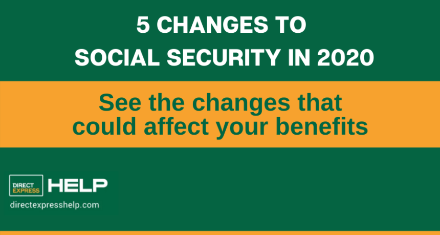 """Social Security Changes In 2020"""