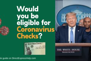 """""""coronavirus checks"""""""