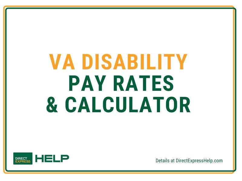 """""""VA Disability Pay Chart"""""""