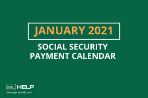 """What are the payment dates for Social Security in January 2021"""