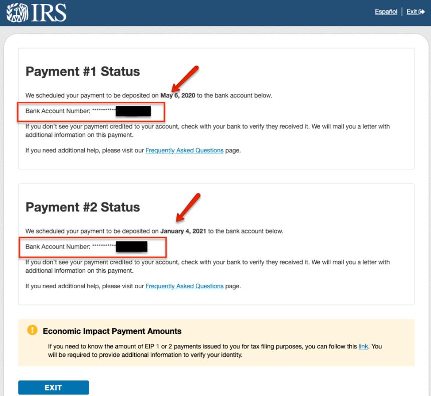"""""""Direct Express Stimulus Check Status - 3"""""""