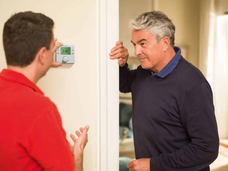 Speak with your heating engineer for a fast and effective response