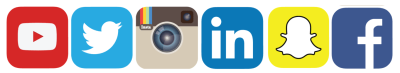 Liste des médias sociaux dans lesquels vous êtes autonomes