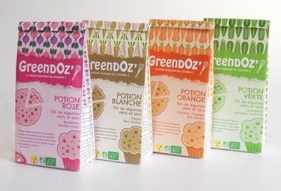 échantillons de produits Greendoz'