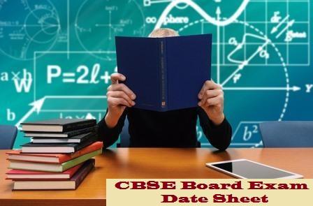 CBSE-Date-Sheet