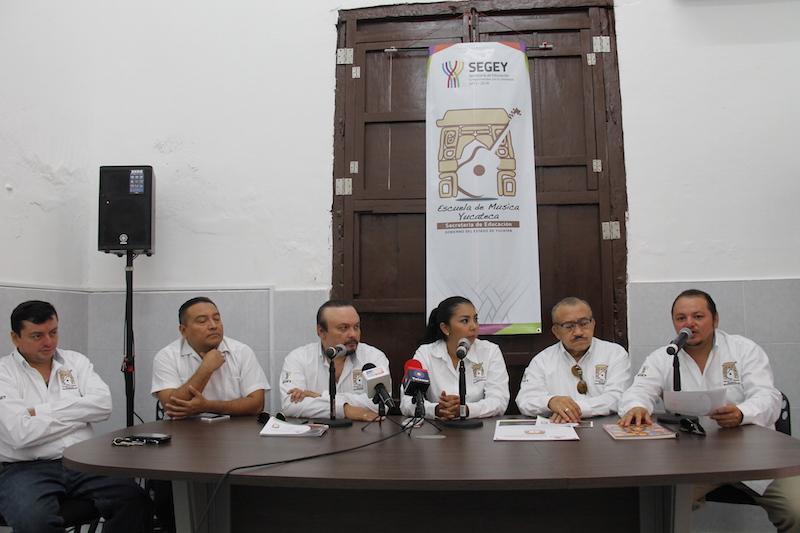 Abrirán inscripciones para Escuela de Música Yucateca